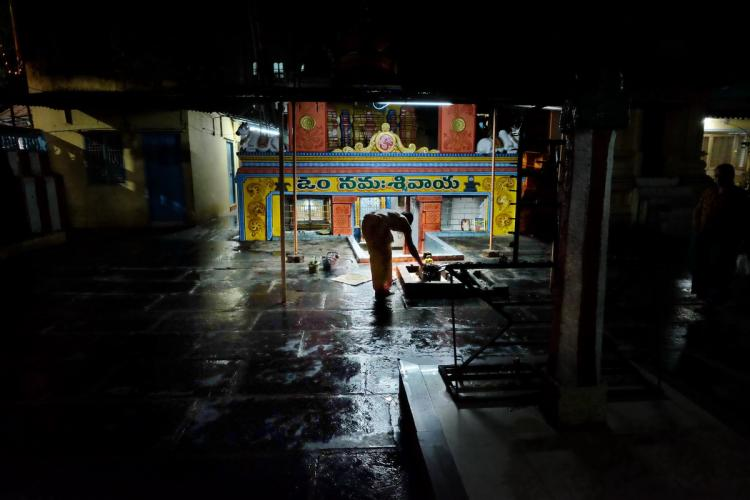 Hanuman Temple Puttaparthi